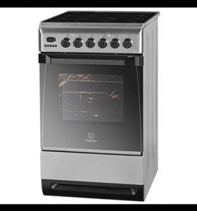 Кухонная плита с духовым шкафом и грилем