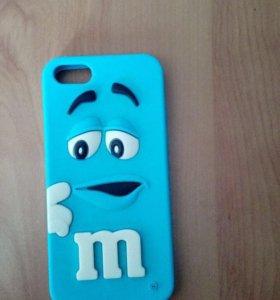 Чехлы M&M на айфон 5/5s/5SE