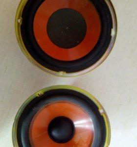 Динамики СЧ-100 Вт (2шт), НЧ-100 Вт(2шт)
