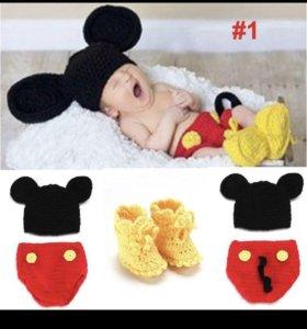 Продам костюмчики для новорожденных