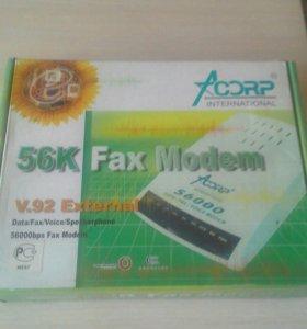 Факс- модем Аcorp