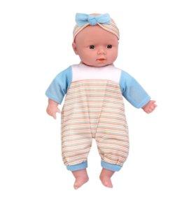 новая кукла пупс высота 32 см