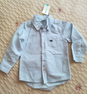 Новая хлопковая рубашка р.90