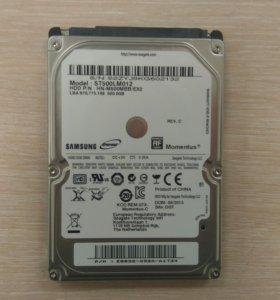 "Жесткий диск Seagate 2.5"" для ноутбука, 500Gb"