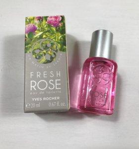 Туалетная вода Fresh Rose от Yves Rocher 20ml