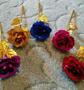 Дикоротивная роза 1-шт ( 8 марта )