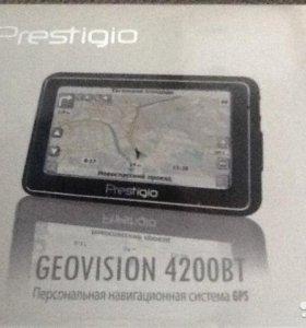 Навигатор prestigio Geovision 4200вт