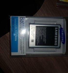 Samsung Galaxy Note новый аккумулятор оригинал!