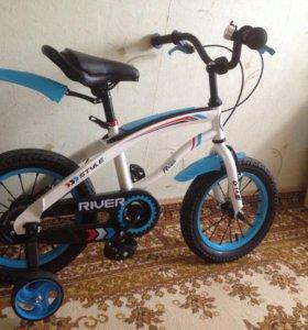 Детский велосипед river baik