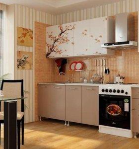 Кухня 2м Сакура лдсп