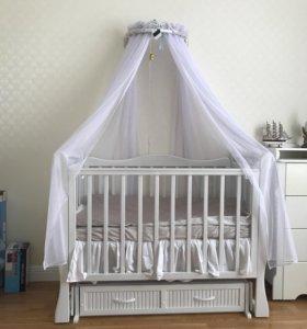 Детская кроватка Корона