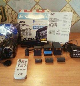 Видеокамера JVC  с жестким диском
