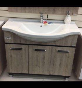 Новый набор в упаковке для ванной тумба+ раковина