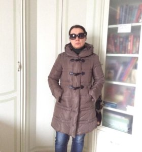 Стеганое пальто Maxmara