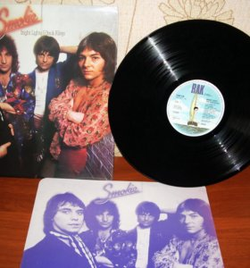 Smokie – Bright Lights And Back Alleys - 1977