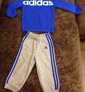 Детский спортивный костюм adidas новый