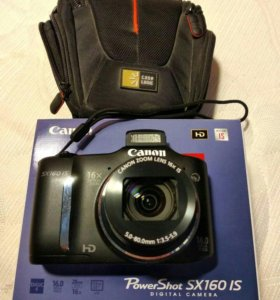 Фотоаппарат Canon SX160 IS