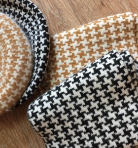 Новые теплые шарфы и беретки