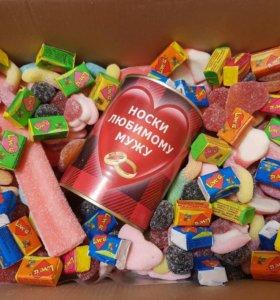 Желатинки мармелад подарок жевачки сладости