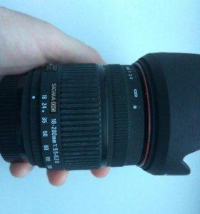 Sigma DC 18-200 3.5-6.3 Nikon
