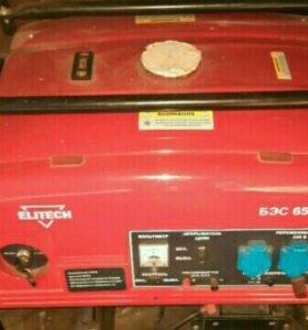 Электрогенератор бензиновый.