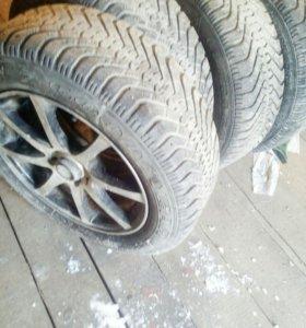 """Комплект колёс на 15"""""""