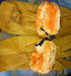 Перчатки и рукавицы зимние