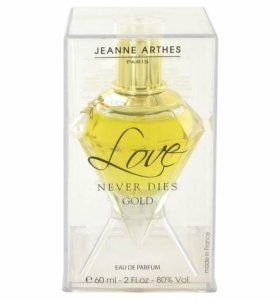 Парфюм Love Never Dies Gold Jeanne Arthes