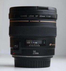 Canon ef 20mm 2.8 USM