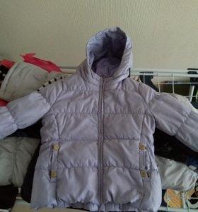 Куртка весна/осень для девочки 4-5 лет