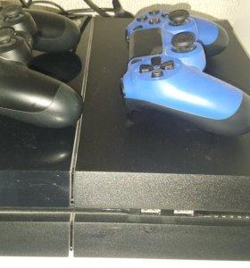 Sony PlayStation 4 + 6 игр