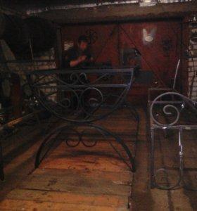 Художественная ковка:лестницы, ограждения, теплицы