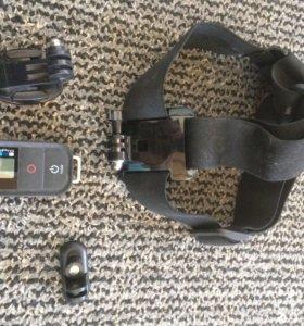 Пульт GoPro,крепление на руль,голову,шлем
