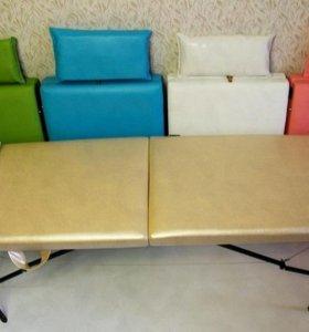Массажный стол (кушетка для макияжа) + Подушка