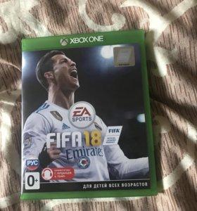 FIFA 18 на Xbox one Новый диск