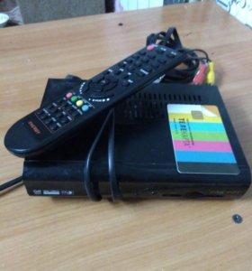 Комплект спутникового телевидения Телекарта