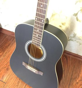Гитара новая вестерн с чехлом