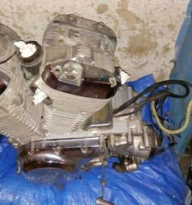 Двигатель Suzuki VS400 Intruder