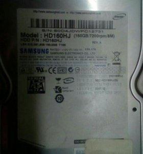 Жесткий диск HDD samsung 160Gb sata