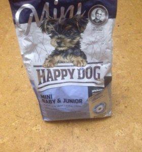 Корм Happy Dog для собак мелких пород