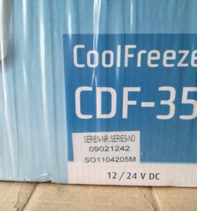 Автомобильный фреоновый холодильник Waeco