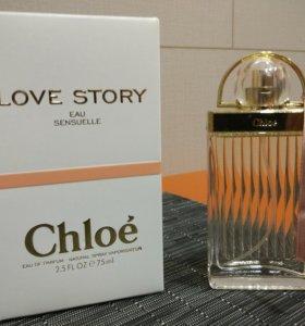 Женская парфюмерия Chloe Love Story Eau Sensuelle