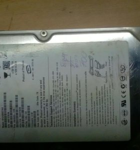 Жесткий диск HDD 120Gb sata