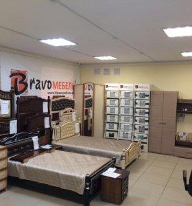 Кровати из массива сосны от фабрики «Браво Мебель»