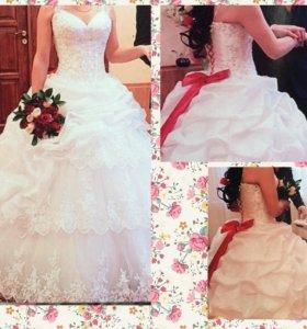 Продам свадебное платье, размер 42-46