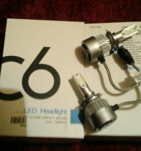 Светодиодные лампочки.H7