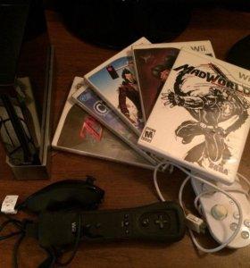 Nintendo Wii + Игры