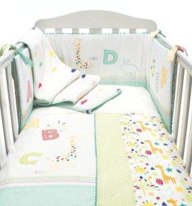 Уголок-бампер для кроватки Mothercare