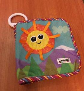 Развивающая игрушка-книжка Lamaze