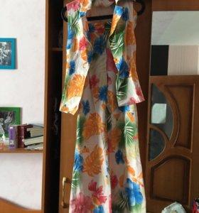 Юбки платье летний костюм
